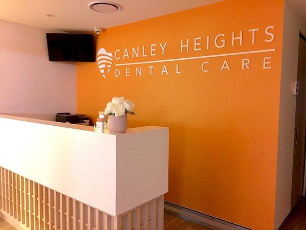 canley heigths dental care reception