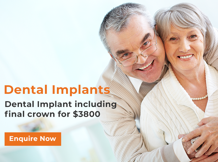 dental implants promotion banner home canley heights